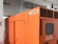 二手低噪音160KW三菱静音型柴油发电机组出售