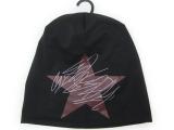 韩版棉质街头帽子五角星嘻哈字母印花布帽男女士套头帽嘻哈头巾帽
