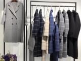 广州雪莱尔正牌尾货服装批发菲克双面呢大衣