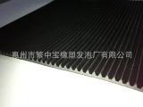 工业橡胶板 耐磨防滑橡胶板 条纹橡胶板 绿色黑色地毡橡胶板