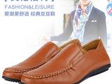 2014新款韩版男士豆豆鞋夏季休闲鞋英伦真皮透气皮鞋平底驾车男鞋