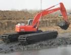 济宁市水陆挖机出租水陆挖掘机租赁服务