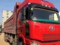 一汽解放J6P-420工程车前四后八二手货车自卸车拉沙土车