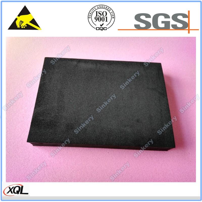 低价批发 XPE阻燃海绵垫 XPE黑色海绵垫