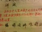 初中、小学生硬笔书法培训