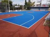 籃球場施工 籃球場建設