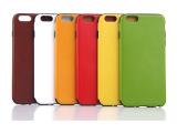 新款iphone 6疯马纹贴皮皮套 i6 4.7寸超薄TPU贴皮