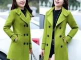 新款双面羊绒大衣女士日常休闲双面呢秋冬羊毛呢外套精品女装批发