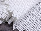 牛奶丝水溶蕾丝服装面料布料批发立体刺绣镂