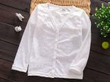 白色防晒衣 儿童防晒服 女童棉罩衫批发