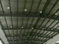 德仓二手钢结构岀售6000方九成新二手旧钢结构厂房屋面