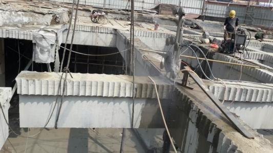 专业墙体切割 楼板切割混凝土切割拆除 专业绳锯切割施工