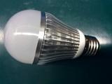 7W鳍片式雷达微波感应 LED人体感应灯智能光控感应 楼道灯走廊灯
