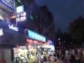山东工商学院校内二餐旁商业街 繁华商圈人流量大
