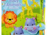 婴儿布玩具多触感动物数字立体布书早教书 带摇铃响纸