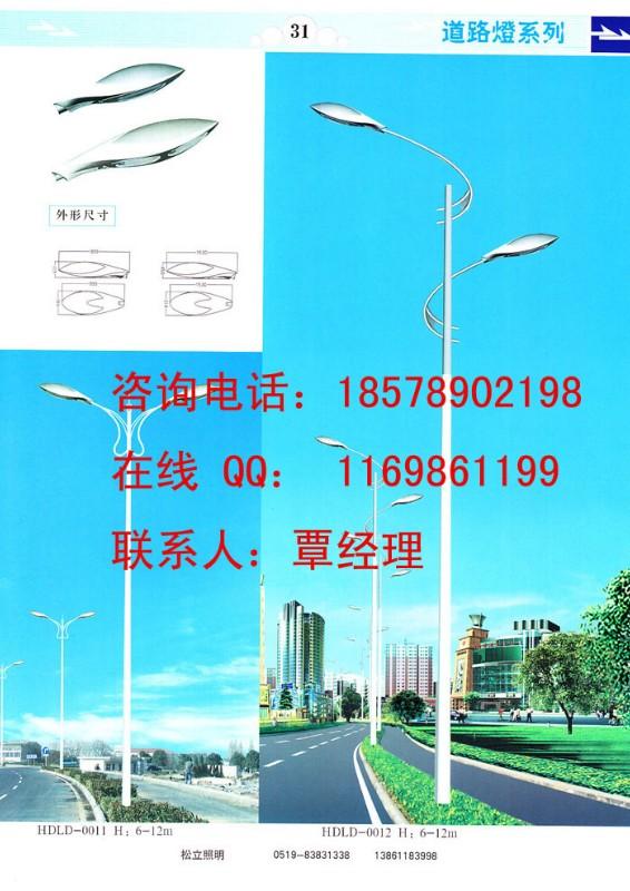 专业的道路灯杆厂家,双虹路灯南宁路灯给您更实惠的路灯价格