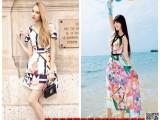 茵佳妮淑女春装品牌折扣女装尾货货源上海哪里有