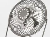 6寸usb小风扇 办公超静音风扇迷你风扇 金属冰爽小风扇 电风扇