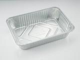 370锡纸盒一次性烤鱼盘铝箔烧烤盘5000ml打包盒