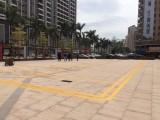 博罗园洲停车位划线工厂车间划线