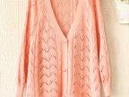 【特别推荐】厂家优质销售优质开衫针织衫 单排扣毛衣 针织衫批发