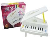 供应高仿真11键钢琴 迷你玩具立式钢琴