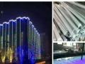 甘肃临夏亮化工程LED线条灯外控专业生产厂家,灵创照明