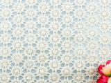 手工DIY服装辅料 蕾丝全棉米色水溶对领花边 繁花朵雏菊花边