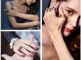 欧美钛钢个性设计戒指不锈钢礼品游戏周边定制高端首饰OEM厂家