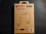 耳机厂家直销迷你方线手机耳机GEMI哥米G100耳机诚招区域代理