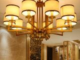 现代新中式吊灯客厅灯中式灯具餐厅铁艺卧室