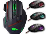 USB有线光电游戏鼠标 火力键七色呼 吸灯 网吧游戏 工厂直销批