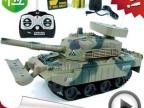 升级版 儿童玩具 玩具批发 超炫玩具4通遥控坦克 可发弹(充电)