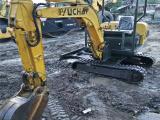 武汉小型挖掘机供应,玉柴131520二手挖掘机小钩机