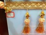 【诚信经营】供应双珍珠草莓 窗帘水晶珠子 装饰花边