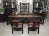 厂家直销老船木茶桌椅组合实木茶功夫茶台