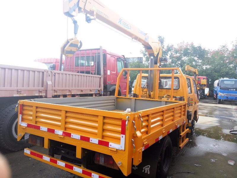 南京3.2吨随车吊厂家直销