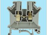 全铜UK-3N通用型端子 阻燃导轨式接线