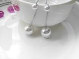 流苏耳环长款女式 时尚简约气质 饰品制造商 防过敏