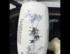 全新景德镇陶瓷器富贵竹四面插花瓶现代简约家居