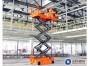 中山三角镇工厂设备检修用升降车,12米剪叉式升降车出租