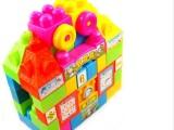 节节高JF912卡通儿童积木,益智塑料积木,塑料早教玩具积木28