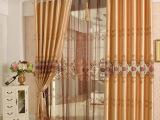 中式古典高档仿真丝水溶绣花窗帘布 客厅卧室婚房成品定做特价24#