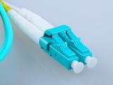 2米OM3多模万兆光纤跳线LC-LC尾纤跳线光钎跳纤