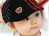 帽子批发 新款 小星星贝雷帽 鸭舌帽 婴