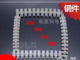 厂家直销X3-6012尼龙接线端子排 60A12位塑料接线柱 铜