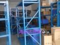 仓储货架小货架仓库货架工作台超市货架角钢货架钛合金展示柜