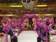 专业气球布置,结婚庆典气球装饰,开业活动生日策划