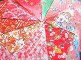 DIY手工折纸材料/手工纸/日本友禅纸和纸/千代纸/10色彩色印