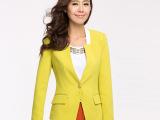 优衣美2014新款秋装小西装女外套短款长袖修身西服女装韩版潮16